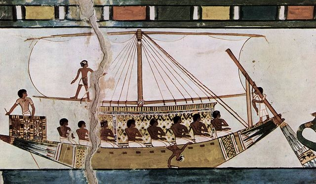 describe egyptian trade during the rule of hatshepsut