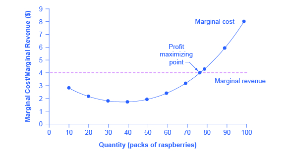 The market-level graph shows that the equilibrium price ($4.00) is determined through the interaction between market demand and market supply.
