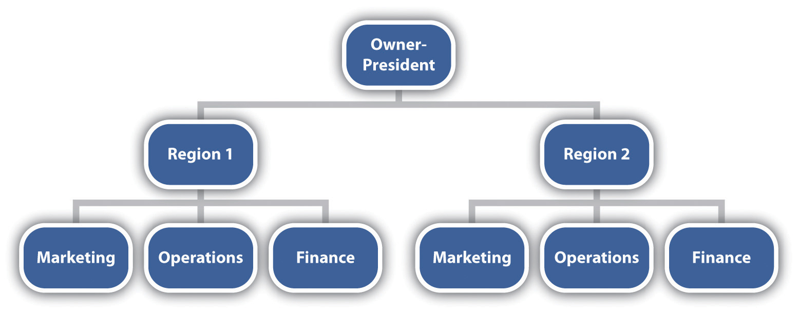 type of business organization chart  Carda