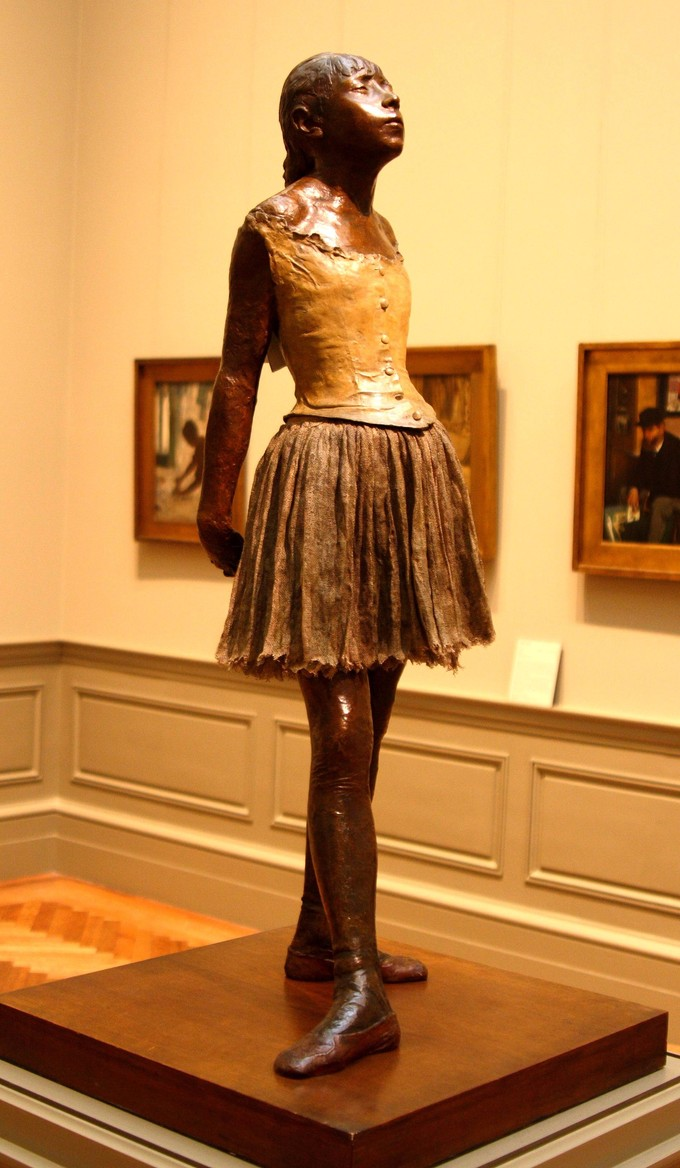 Little Dancer of Fourteen Years by Degas