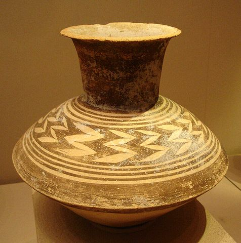 Photo depicts Ubaid style vase.