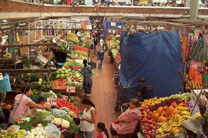San Juan de Dios Market in Guadalajara, Jalisco.