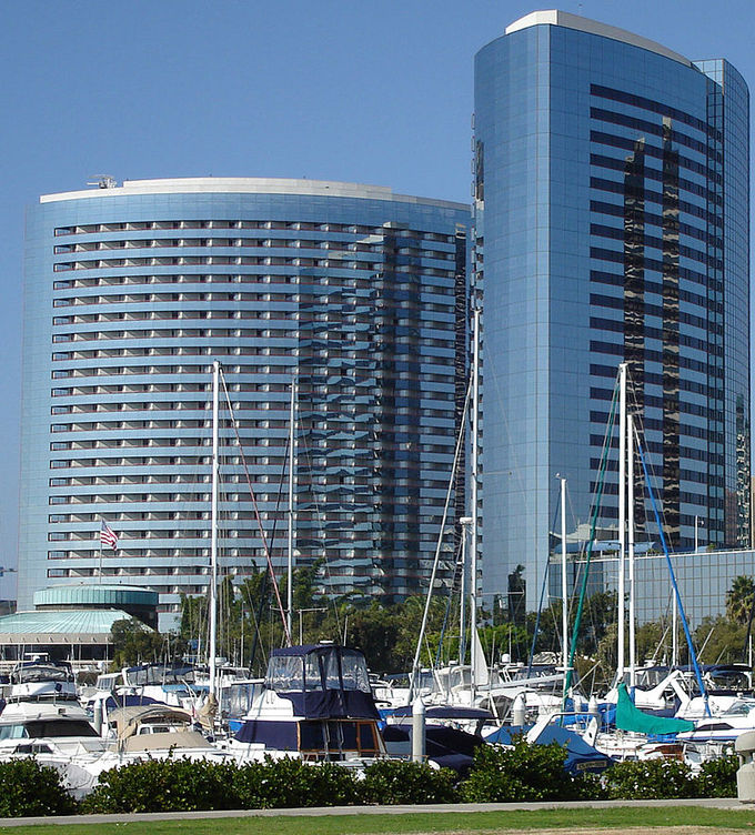 The San Diego Marriott Marquis & Marina. It's one of the highest revenue-generating Marriotts in the nation.