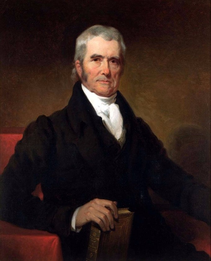 Portrait of John Marshall