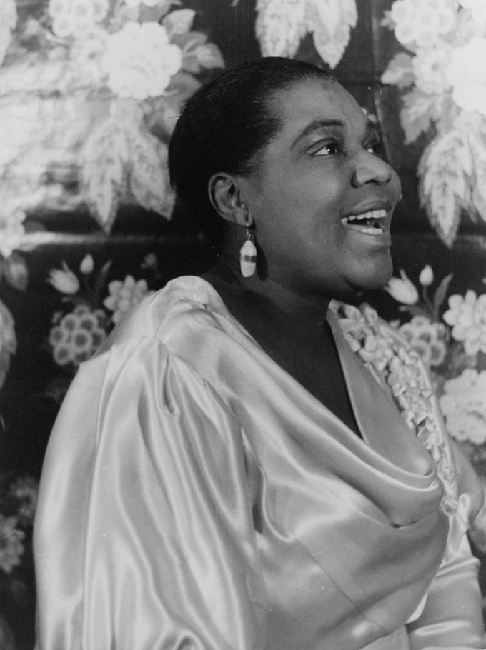 Portrait of Bessie Smith