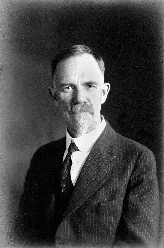 Portrait of Charles Benedict Davenport