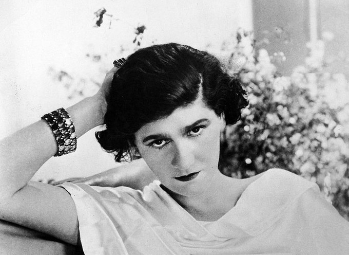 Photograph of Coco Chanel