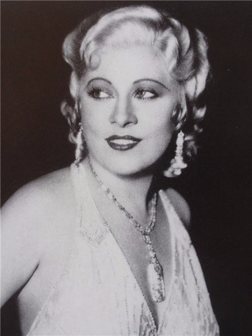 Portrait of Mae West