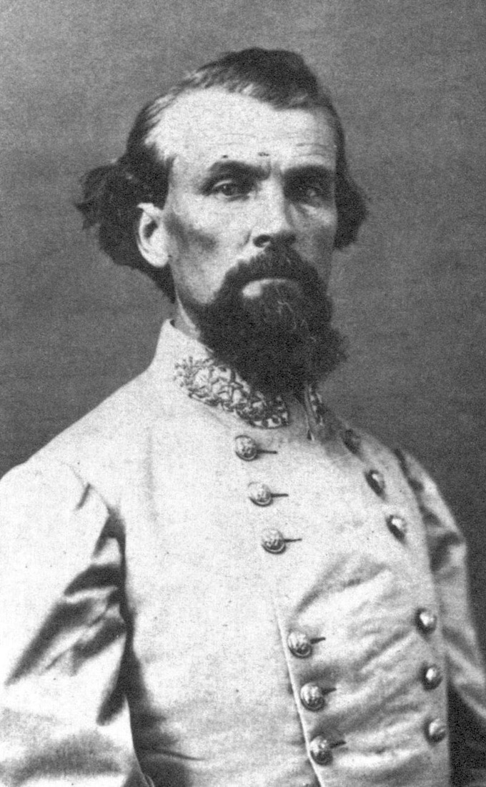 Portrait of Nathan Bedford Forrest