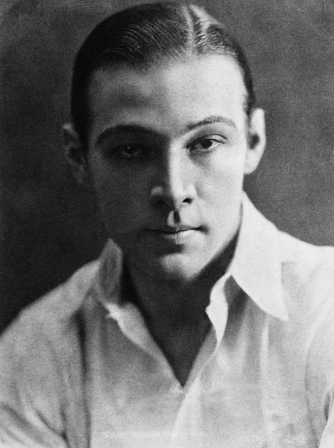 Portrait of Rudolph Valentino