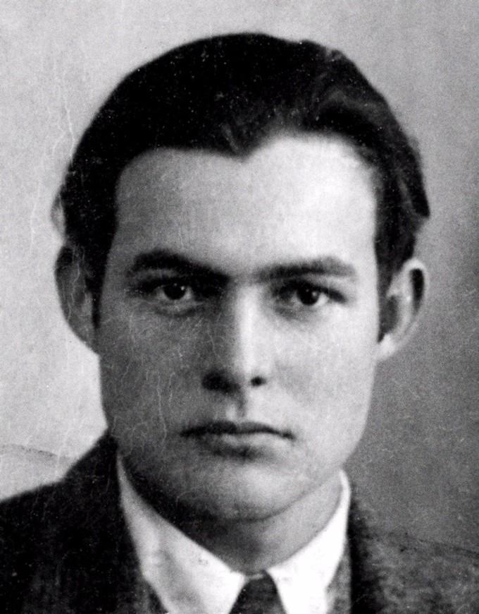 Portrait of Ernest Hemingway