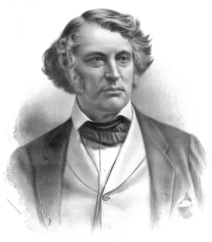 Portrait of Charles Sumner