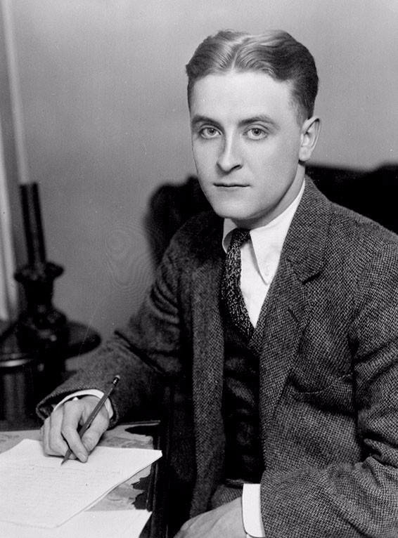 Portrait of F. Scott Fitzgerald, 1921