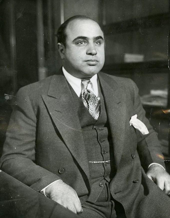 Photograph of Al Capone