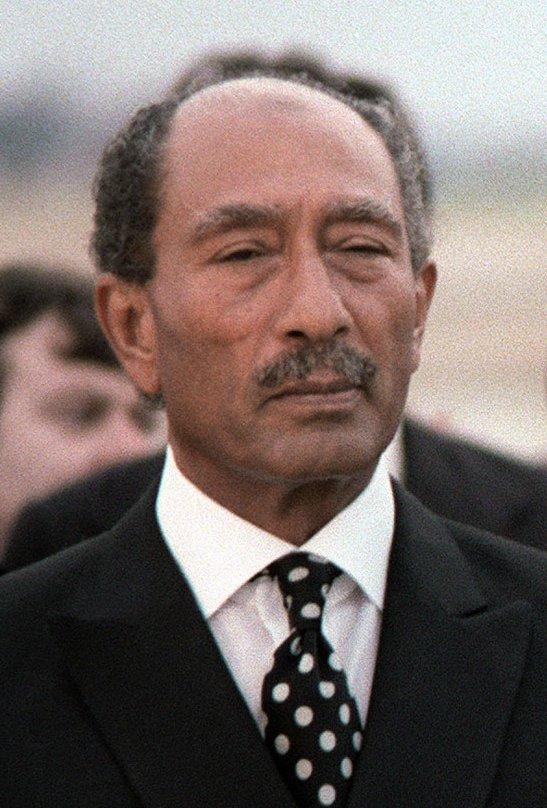 Photo of Anwar Sadat, third President of Egypt