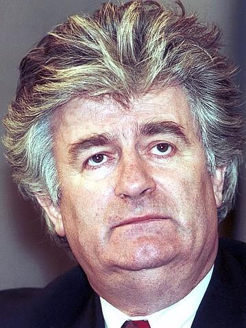 Photograph of Radovan Karadžić
