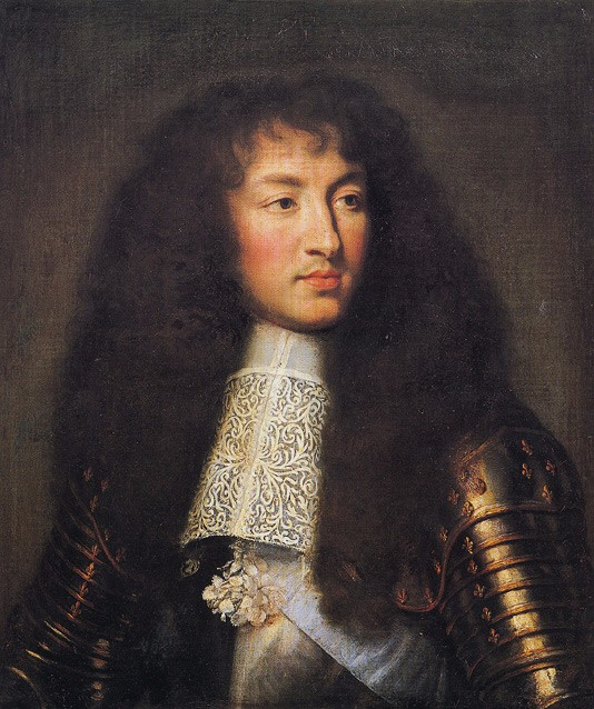 Portrait of Louis XIV, King of France