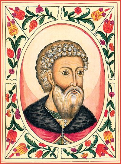 Portrait of Ivan III