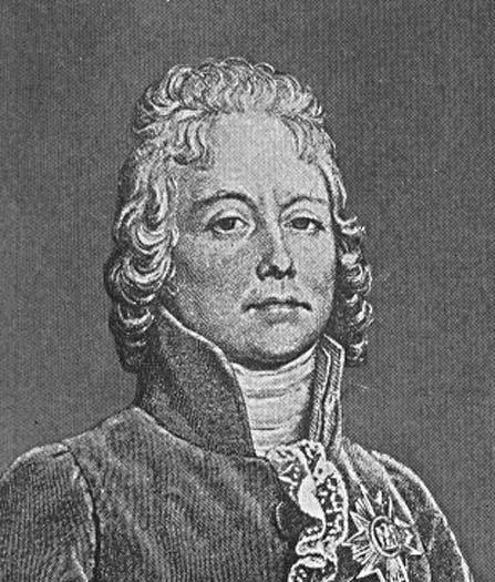 An image of French diplomat Charles Maurice de Talleyrand-Périgord.