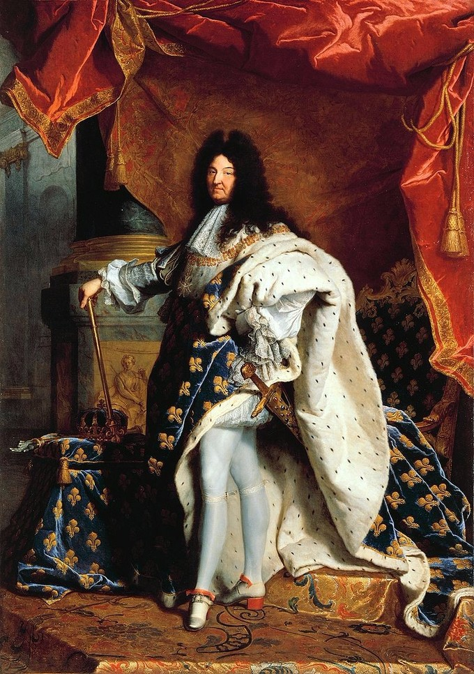 Portrait of Louis XIV