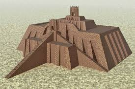 Ziggurats were massive structures built in the ancient Mesopotamian valley and western Iranian plateau, having the form of a terraced step pyramid of successively receding stories or levels.The Ziggurat of Ur measured 64 m (210 ft) in length, 45 m (148 ft) in width and over 30 m (98 ft) in height. The height is speculative, as only the foundations of the Sumerian ziggurat have survived.