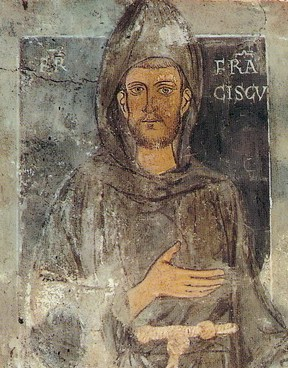 Portrait of Saint Francis