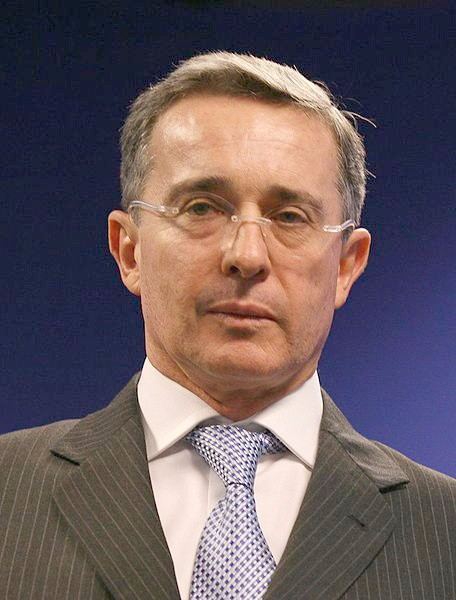 Photograph of Álvaro Uribe