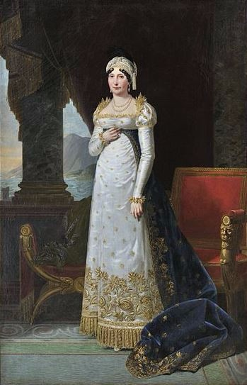 Portrait of Maria Letizia Ramolino