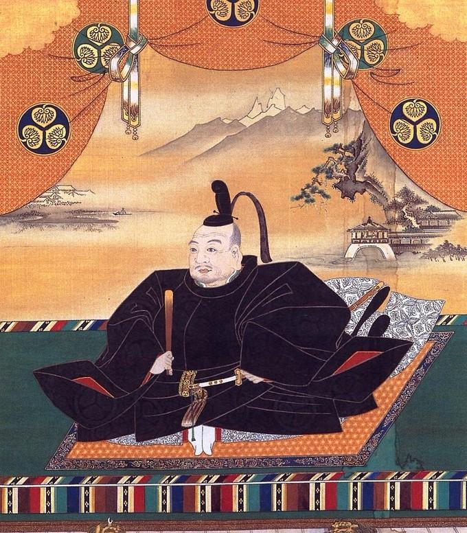 A painting of Tokugawa Ieyasu