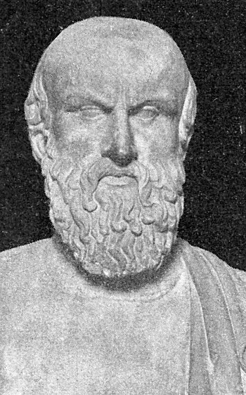Marble bust of Aeschylus