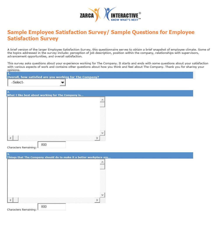 Employee surveys | hr surveys | free questionnaire templates.