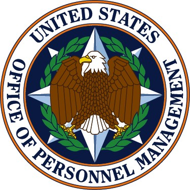 The official seal of the United States Office of Personnel Management.