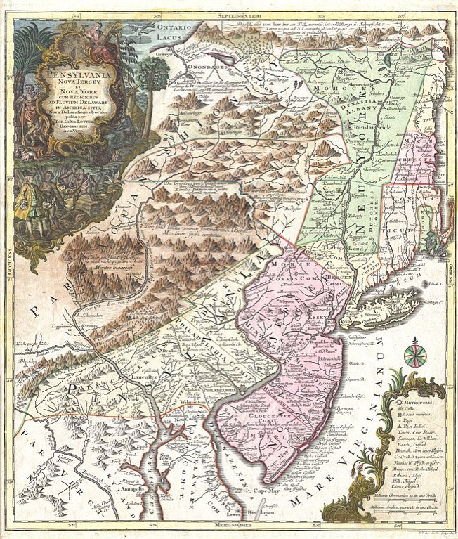 The Middle Colonies Us History I Map Of New Amsterdam Colony